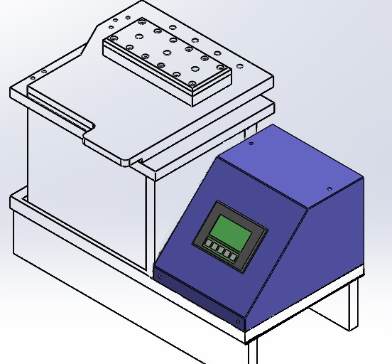 Force Decay Leak Tester with Test Chamber