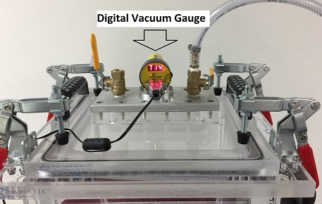 Add a Digital Vacuum Gauge to your Vacuum Chamber