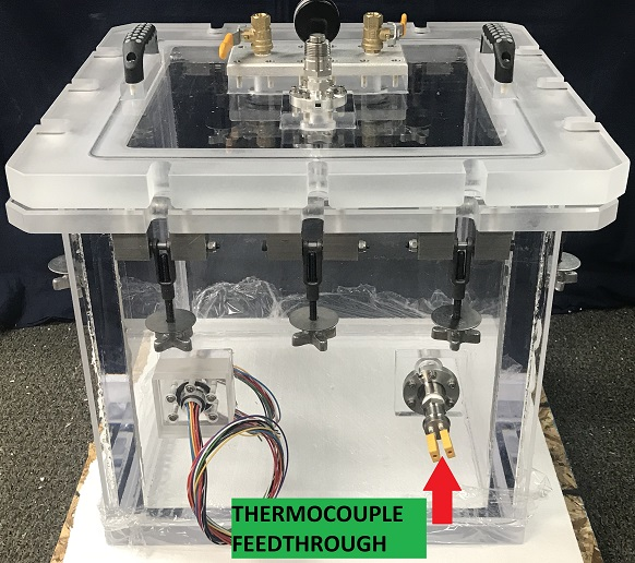 Add Vacuum Thermocouple feedthroughs to your Chamber