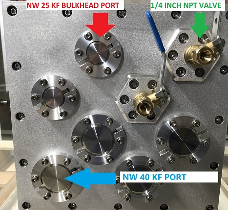 Add Various Vacuum Ports and Bulkheads to your Vacuum Chamber