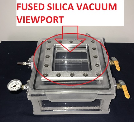 Install a viewport to your vacuum chamber