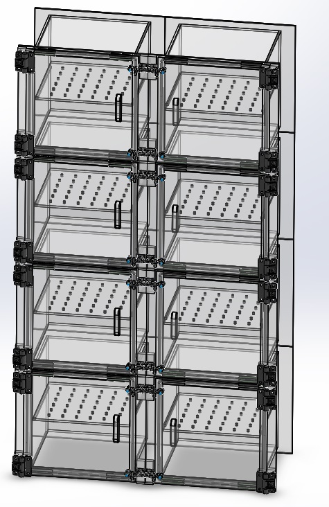 Desiccator Cabinet Eight 8 Door Dry Box