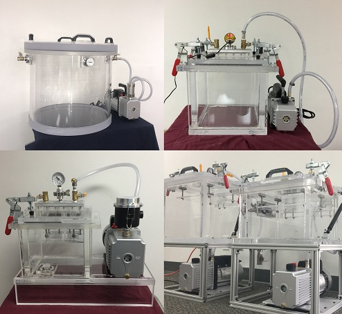 Vacuum Chamber and Pump Systems