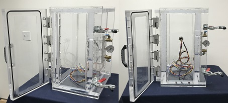 Clear Chamber for Automotive Components Production Testing