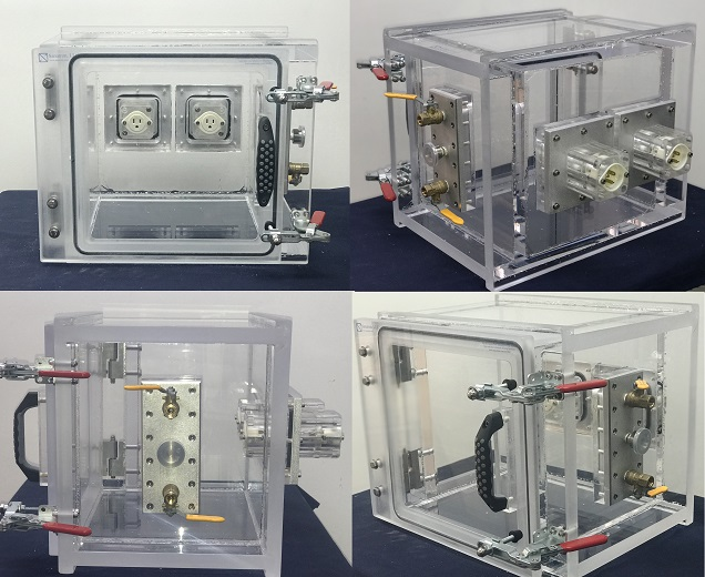 Custom Vacuum Chamber for Biomedical Instrumentation in Molecular Biology