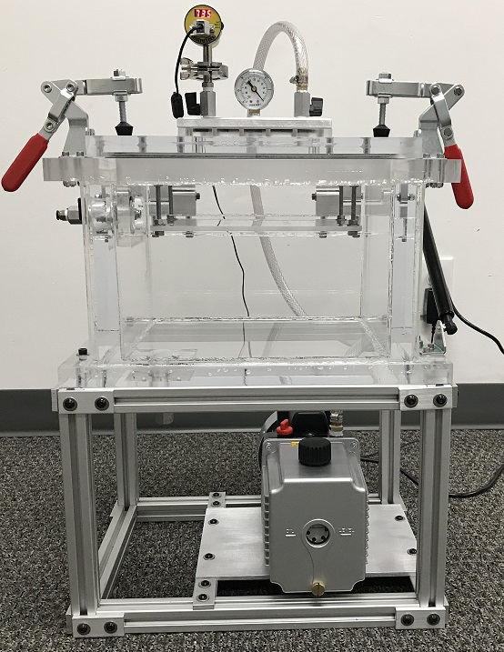 bubble leak testing system