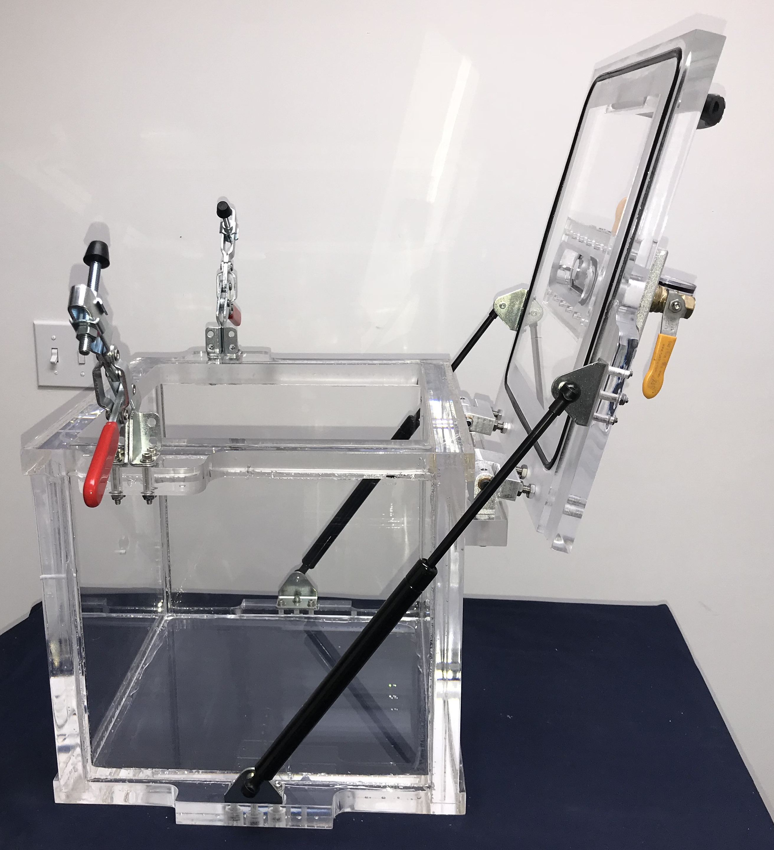 Acrylic Vacuum Chamber, Cube, 16 inch inside dimensions ...