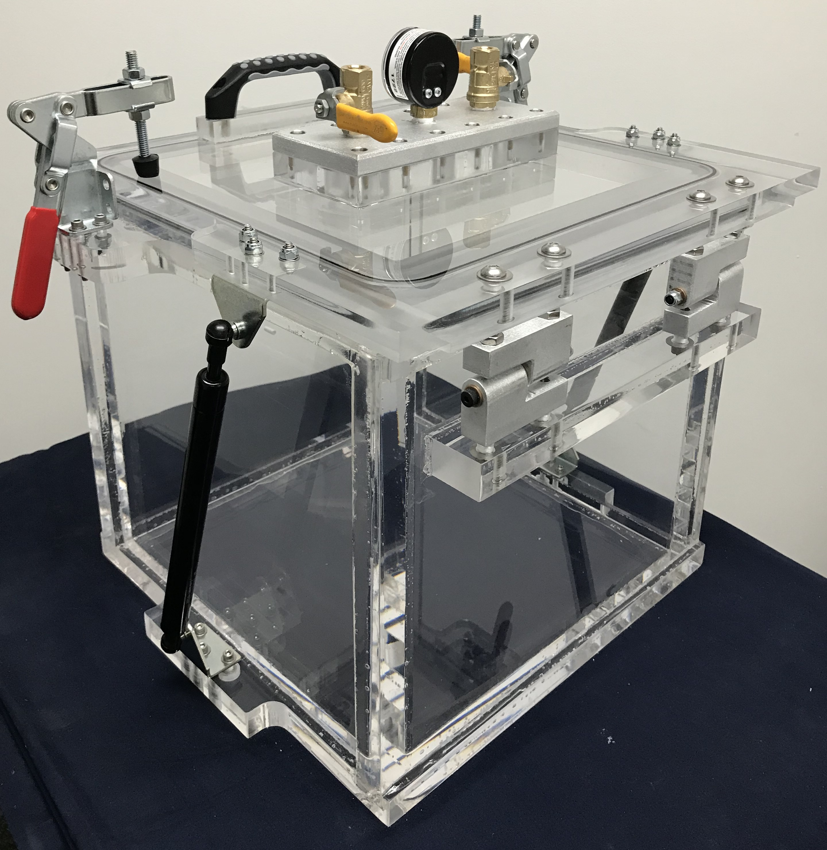 By Chambers: Acrylic Vacuum Chamber, Cube, 12 Inch Inside Dimensions