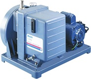 DUOSEAL, Belt Drive Rotary Vane Pump Mounted without motor