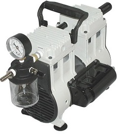 Wob-L Dry Vacuum Pump, 115V 60Hz 1Ph, 9 Torr at 3.5 CFM